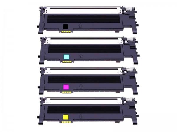 Kompatibel zu Samsung CLT-P406C / S360 Toner Multipack CMYK (4er Set)