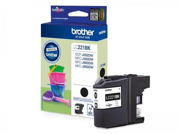 Brother LC221BK Tintenpatrone Black