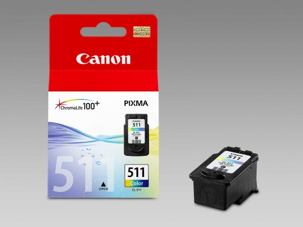 Canon CL-511 / 2972B001 Tintenpatrone Color