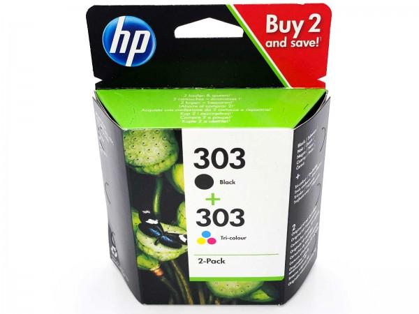 HP 303 / 3YM92AE Tintenpatrone Multipack (1xBlack & 1xColor)