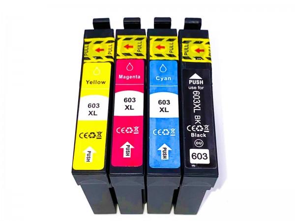 Kompatibel zu Epson 603XL / C13T03U64010 Tinte Multipack C,M,Y,BK