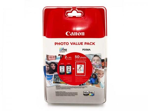 Canon PG-545XL / CL-546XL / 8286B006 Tintenpatrone Multipack