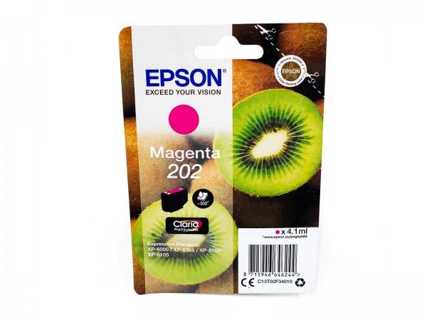 Epson 202M / Tintenpatrone Magenta
