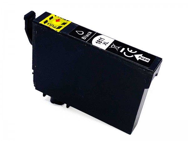 Kompatibel zu Epson 18XL / C13T18114010 Tinte Black