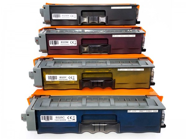 Kompatibel zu Brother TN-325 Toner Multipack CMYK (4er Set)