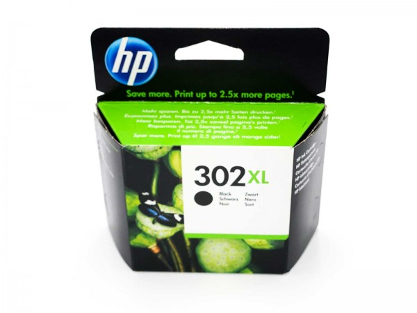 HP 302 XL / F6U68AE Tintenpatrone Black