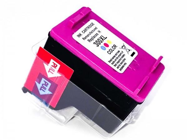 Kompatibel zu HP 300 XL / CC644EE Tintenpatrone Color