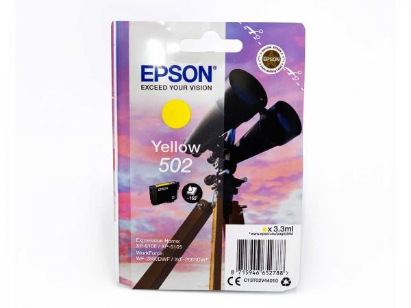 Epson 502Y / Tintenpatrone Yellow