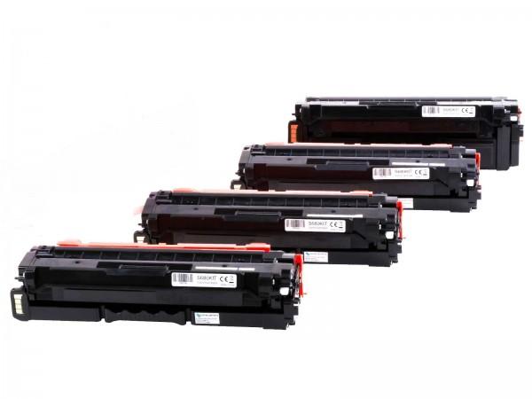 Kompatibel zu Samsung CLT-K506L CLT-C506L CLT-M506L CLT-Y506L / S680 Toner Multipack CMYK (4er Set)
