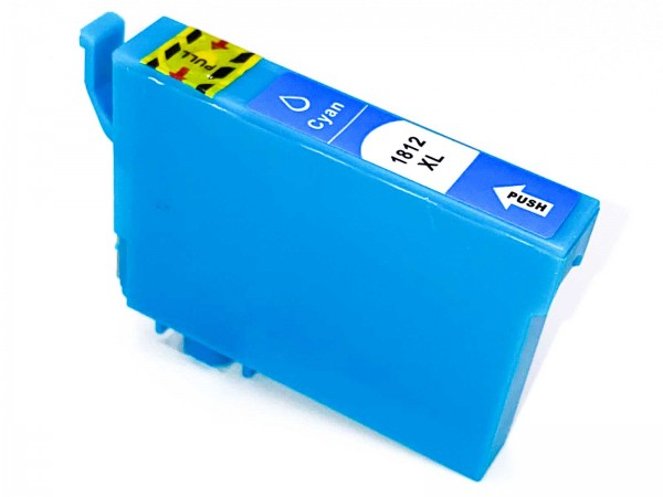 Kompatibel zu Epson 18XL / C13T18124010 Tinte Cyan