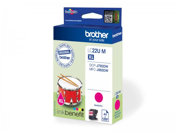 Brother LC22UM XL / Tintenpatrone Magenta