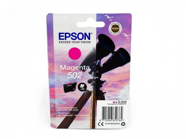 Epson 502M / Tintenpatrone Magenta