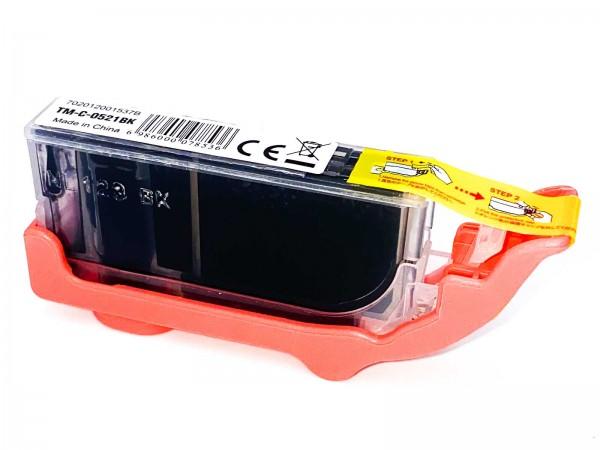 Kompatibel zu Canon CLI-521BK / 2933B001 Tinte Black