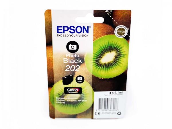 Epson 202PB / Tintenpatrone Photo Black