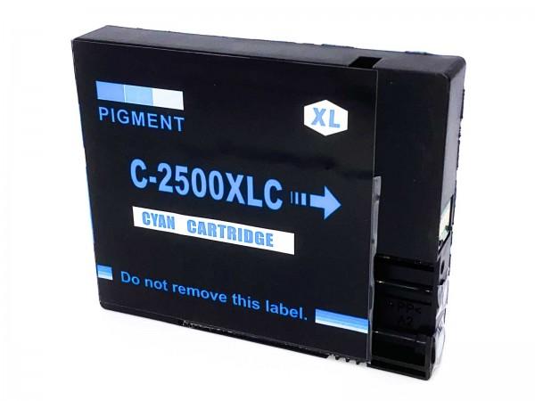 Kompatibel zu Canon PGI-2500XL / 9265B001 Tinte Cyan