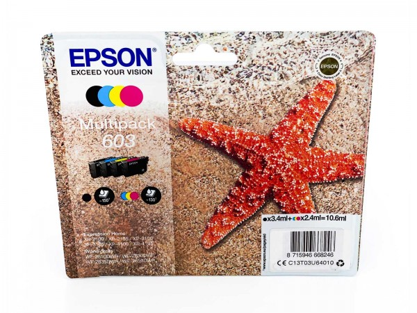 Epson 603 / Tintenpatrone Multipack