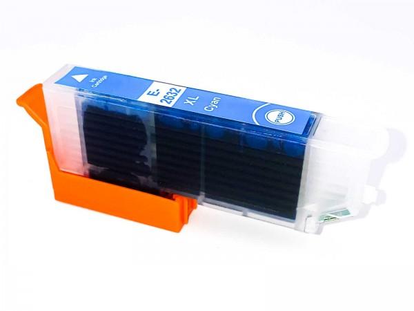Kompatibel zu Epson 26XL / C13T26324010 Tinte Cyan