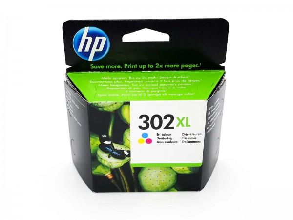 HP 302 XL / F6U67AE Tintenpatrone Color