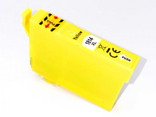 Kompatibel zu Epson 18XL / C13T18144010 Tinte Yellow