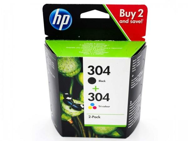 HP 304 / 3JB05AE Tintenpatrone Multipack (1xBlack & 1xColor)