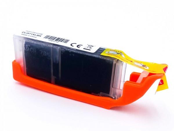 Kompatibel zu Canon CLI-571BK / 0331C001 Tinte Black XL