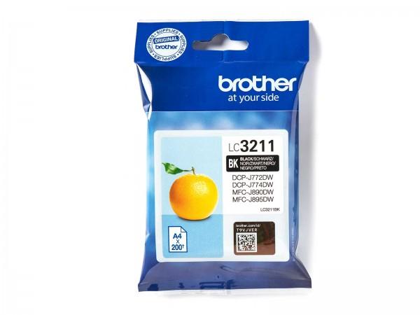 Brother LC3211BK Tintenpatrone Black