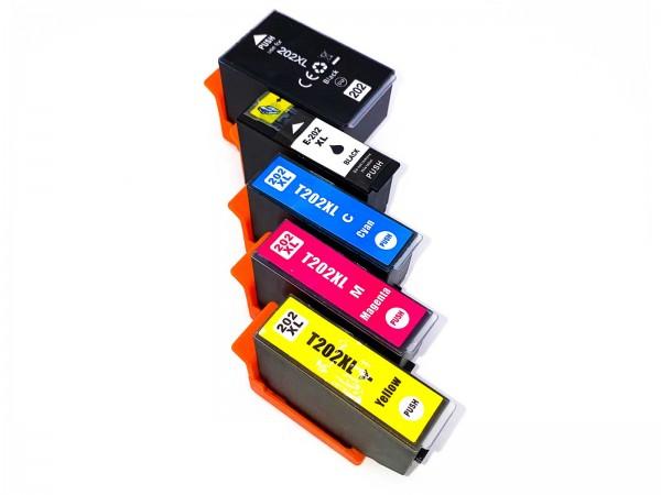 Kompatibel zu Epson 202XL / C13T02G74010 Tinte Multipack PBK,C,M,Y,BK