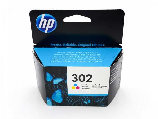 HP 302 / F6U65AE Tintenpatrone Color