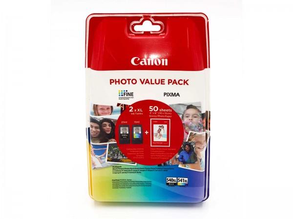 Canon PG-540XL / CL-541XL / 5222B013 Tinten Multipack