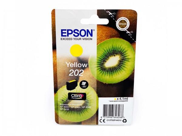 Epson 202Y / Tintenpatrone Yellow
