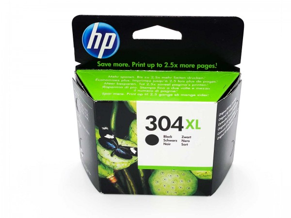 HP 304 XL / N9K08AE Tintenpatrone Black
