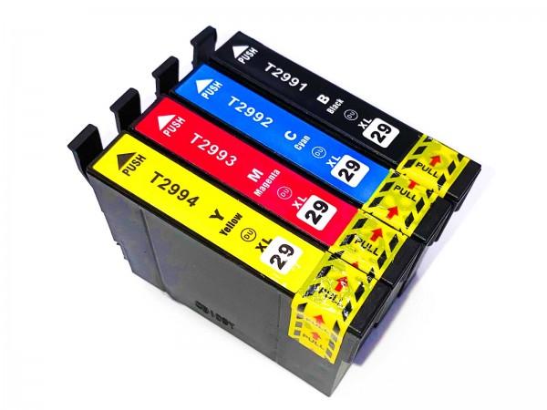 Kompatibel zu Epson 29XL / C13T29964010 Tinte Multipack C,M,Y,BK