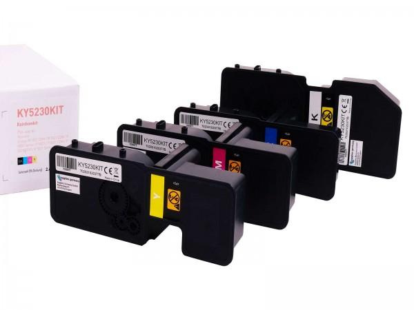 Kompatibel zu Kyocera TK5230 Toner Multipack CMYK (4er Set)