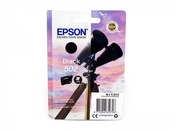 Epson 502BK / Tintenpatrone Black