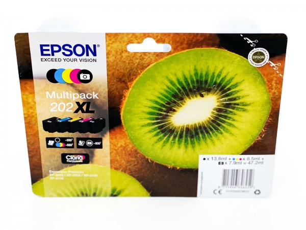 Epson 202XL / Tintenpatrone Multipack