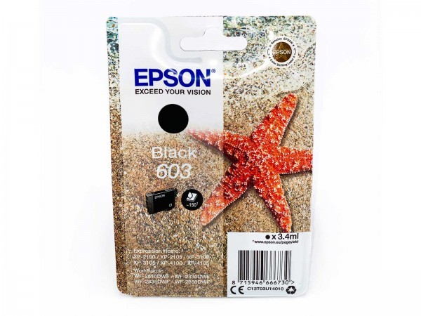 Epson 603BK / Tintenpatrone Black