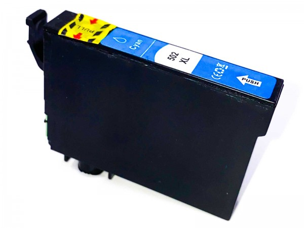 Kompatibel zu Epson 502XL / C13T02W24010 Tinte Cyan