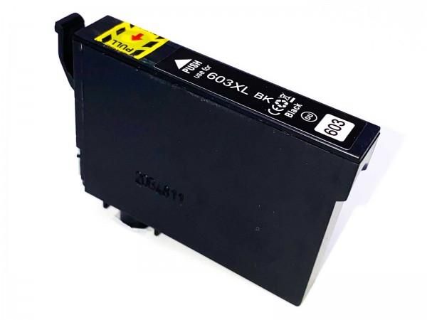 Kompatibel zu Epson 603XL / C13T03A14010 Tinte Black
