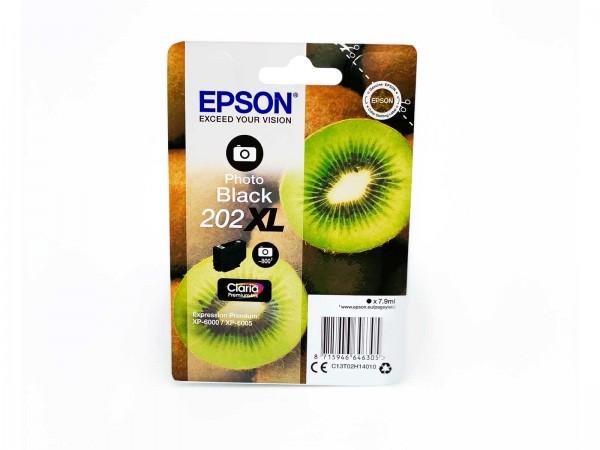Epson 202PBXL / Tintenpatrone Photo Black