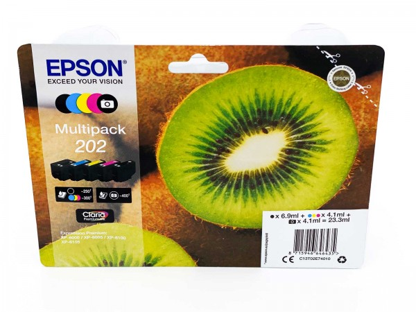 Epson 202 / Tintenpatrone Multipack