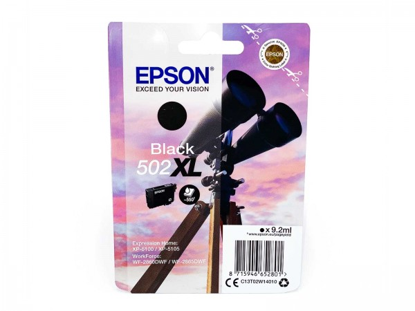 Epson 502BKXL / Tintenpatrone Black