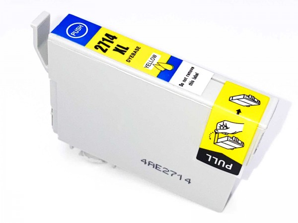 Kompatibel zu Epson 27XL / C13T27144010 Tinte Yellow