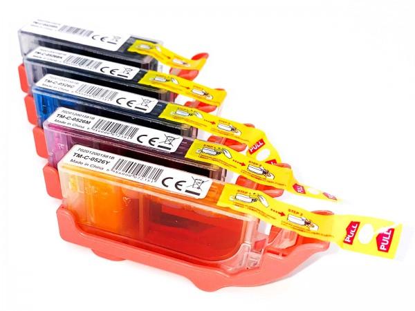 Kompatibel zu Canon PGI525 / CLI-526 / 4529B001 Tinten Multipack CMYK (6er Set)