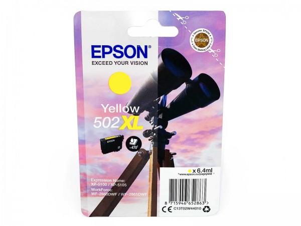 Epson 502YXL / Tintenpatrone Yellow