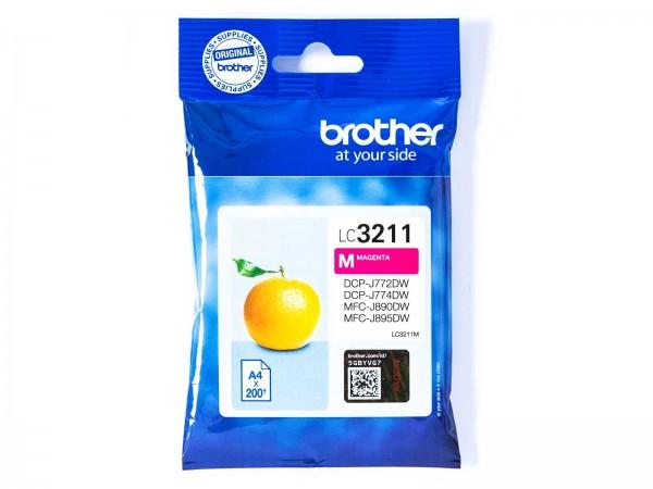 Brother LC3211M / Tintenpatrone Magenta