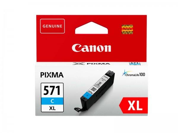 Canon CLI-571CXL / 0332C001 Tintenpatrone Cyan