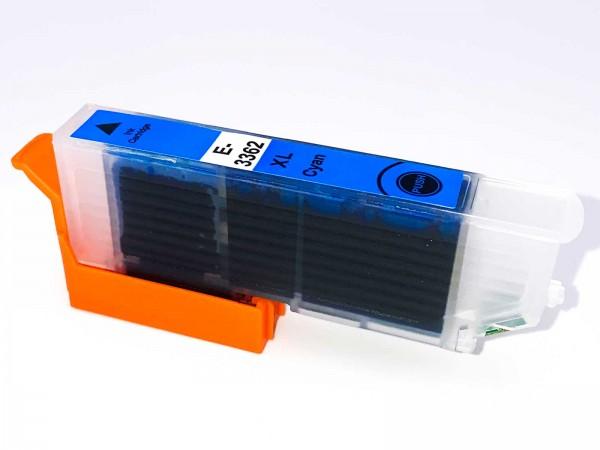Kompatibel zu Epson 33XL / C13T33624010 Tinte Cyan