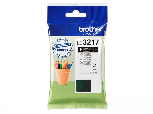 Brother LC3217BK Tintenpatrone Black
