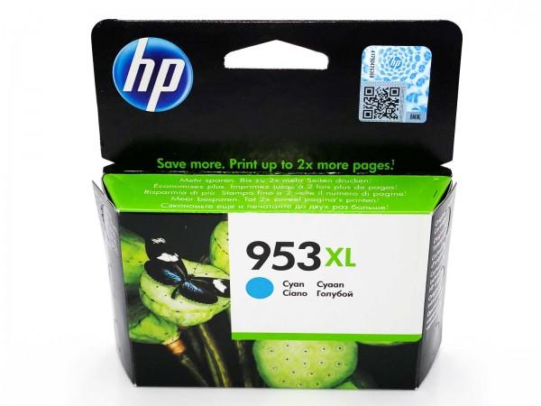 HP 953 XL / F6U16AE Tintenpatrone Cyan