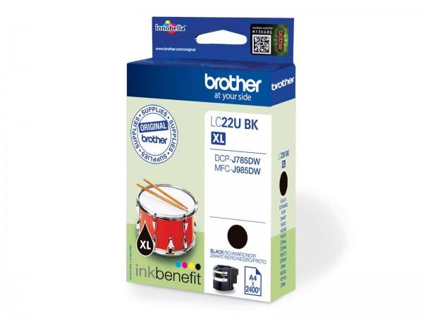 Brother LC22UBK XL / Tintenpatrone Black